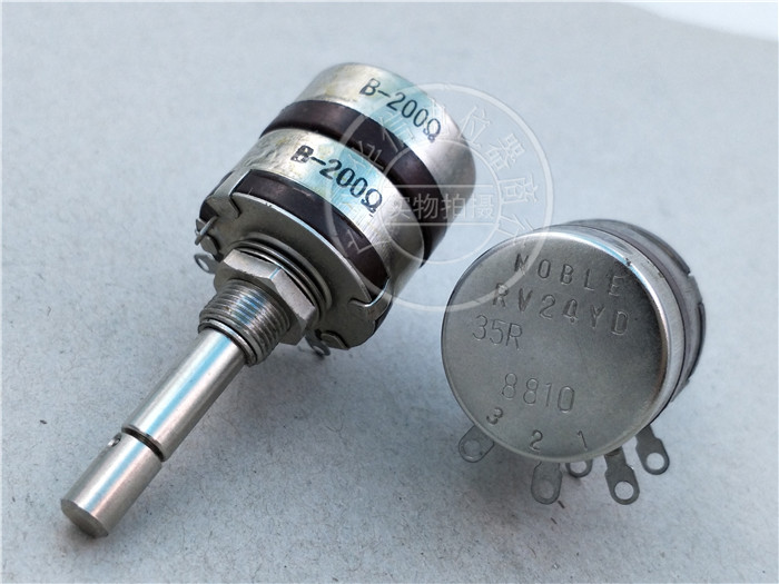 Original new 100% Japan import RV24YD 35R dual modulation potentiometer B201 B200R axis 35MM (SWITCH) original new 100% japan import evbjxbd15460 track 90cm straight rod sliding potentiometer dual a20k 2 axis 15mm switch