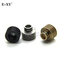 E-XY 100Pcs/lot Color Heat Insulation Large Vapor wide bore drip tips Heat dissipation RDA RBA Atomizer mod Vaporizer