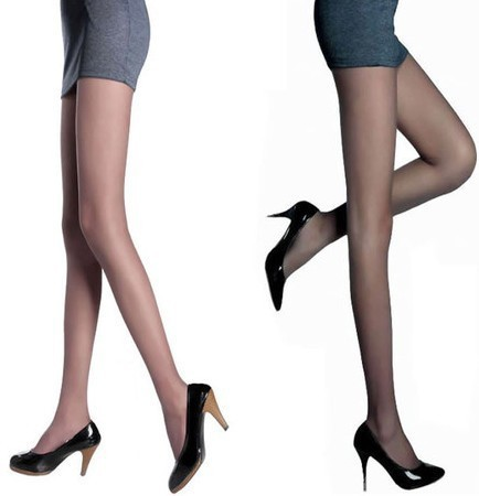 Free shipping langsha summer black  pantyhose  hosiery leggings for women whit skin coffee