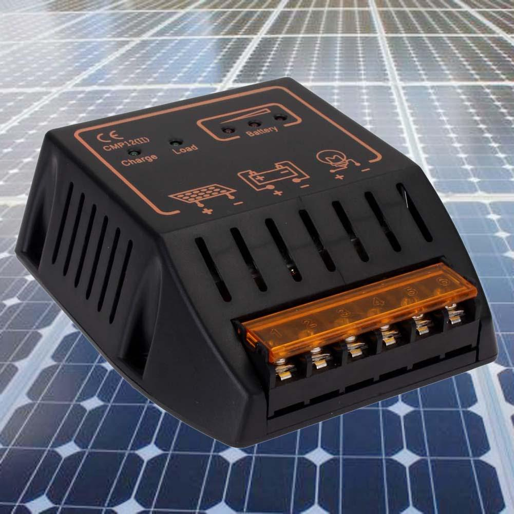 10a 12v 24v Solar Panel Charge Controller Battery Regulator Safe Charger Circuit Protection Over Loadshort Circuitlightning A391 In Controllers From Home