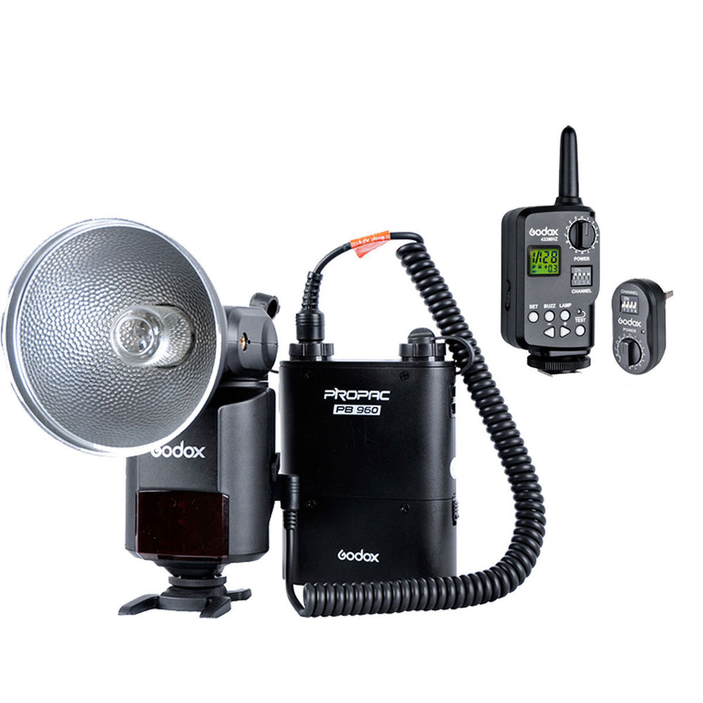 Godox AD360 + PB960 Portable Flash light with Reflector Filter FT-16 Trigger FT16 Wireless Remote Power Control Flash Trigger аксессуар raylab iqlite rrt ft16