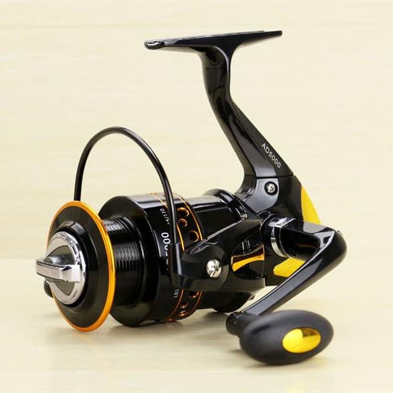 Grade metal rocker fishing reel spinning wheel fishing for Rocking fishing rod