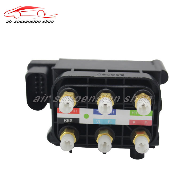 1x Air Compressor Pump Control Valve Unit Suspension Air Supply Solenoid Valve Block for <font><b>Audi</b></font> <font><b>A8</b></font> <font><b>4H</b></font> 2010-2014 4H0616013 image