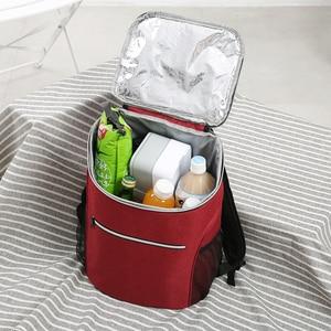 Image 5 - SANNE Bolsa de enfriamiento impermeable gruesa, bolsa de hielo con aislamiento fresco, bolsa aislante térmica, estilo mochila, 20L