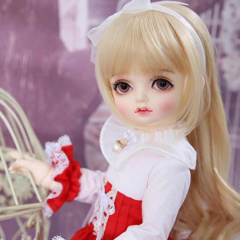 Кукла ROSENBJD RL Bamti BJD SD, куклы Luts, полный комплект, Bluefairy 1/4, модель тела для девочек, высококачественные полимерные игрушки, Oueneifs