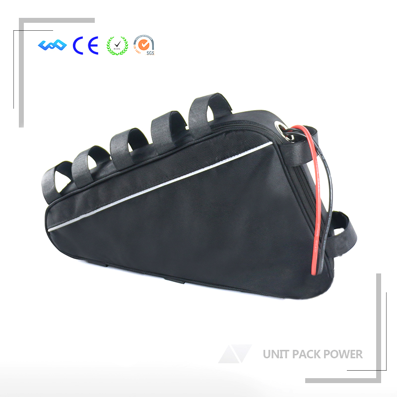 EU US No Tax 52V 1200W 1500W Electric Bike Triangle Battery 52V 20AH Lithium Battery with 40A BMS and 58.8V 4A Fast Charger customize 51 8v 35ah lithium ion battery triangle style 52v 1500w electric bike battery with bag bms for sanyo ga3500 cell