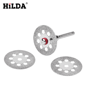 Image 3 - HILDA Diamond Cutting Disc Resin Cutting Sheet Circular Saw Blade Woodworking for Dremel Mini Drill Rotary Tool Accessories