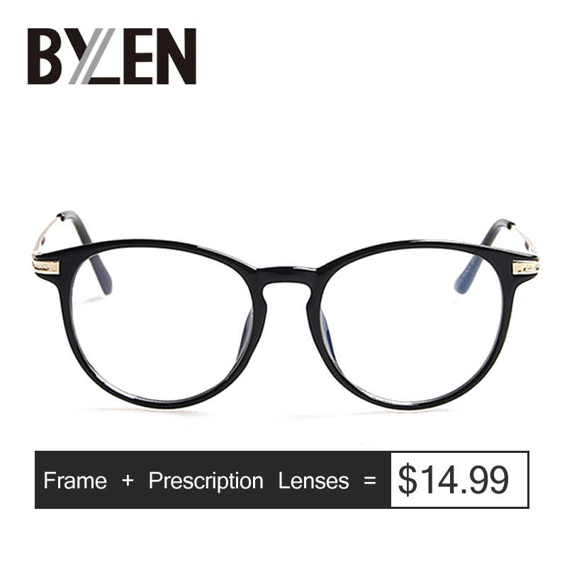 Retro Oval Prescription Glasses Women Reading glasses Myopia Optical Eyeglasses Unisex Metal Points Eyewear Computer Spectacles