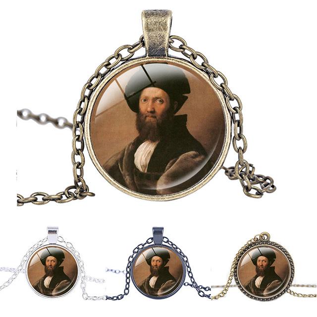 Retrato de Baldassare Castiglione Collar