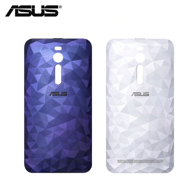 big sale cdb5d a76f9 US $6.99  Original ASUS Zenfone 2 Deluxe ZE551ML Back Cover Case Rear  Battery Cover Replacement with power button with NFC-in Half-wrapped Case  from ...