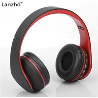 Noise Cancelling Bluetooth Headphones Wireless Headset Deep Bass Stereo Headphones With Microphone For Phone