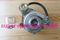 GT28 GT2860 GT28 9 A/R.86 rear turbine .42 a/r oil T25 T28 flange180 300hp oil cooled Internal Wastegate turbo turbocharger