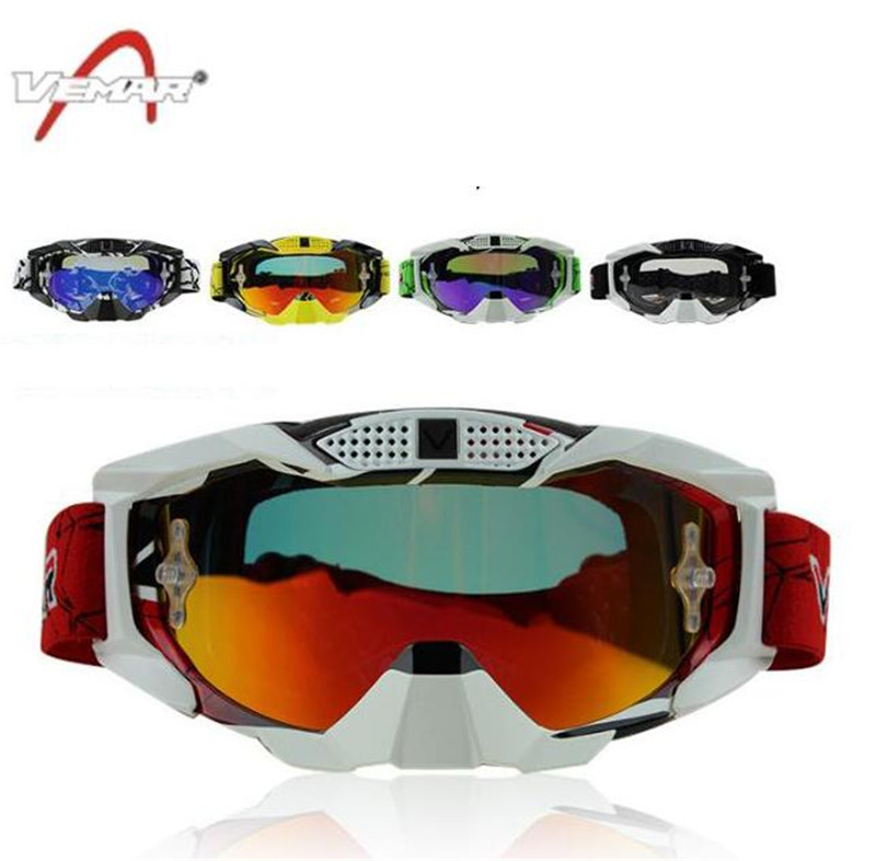 New Motorcycle Racing Eyewear Replaceable Lens Motocross Off-Road ATV Dirt Bike MX DH Goggle Men Women Ski Snowboard Glasses