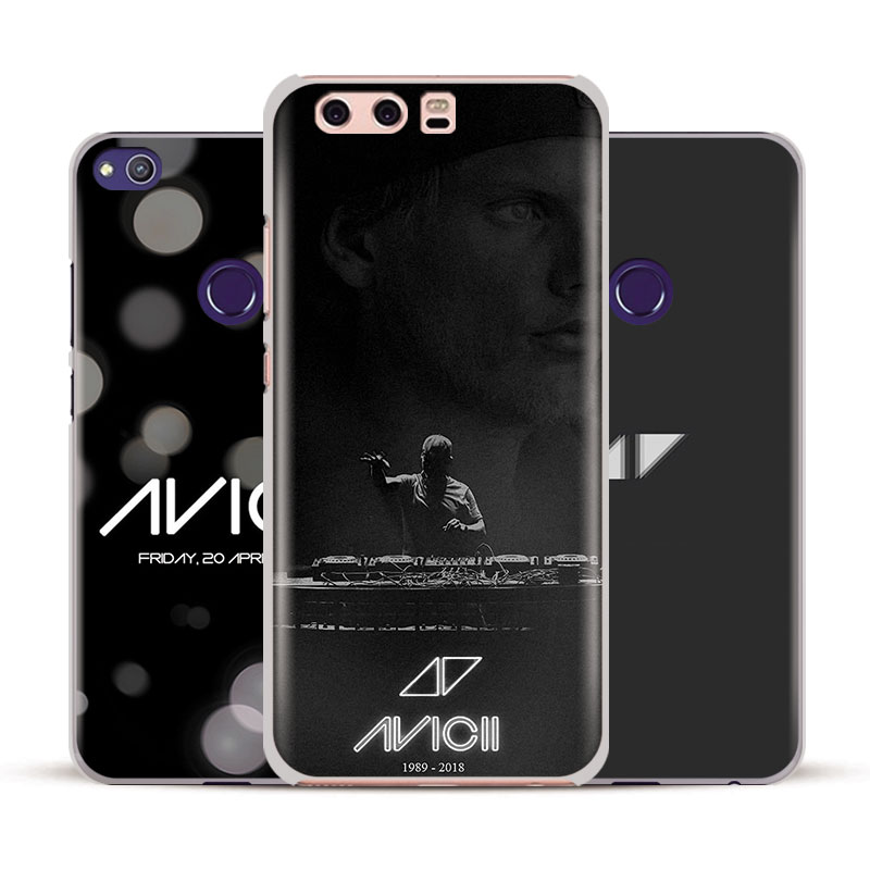 DJ Avicii Tim Bergling RIP Phone Case Cover Shell For Huawei P8 9 10 Lite 2017 Honor V8 V9 V10 Mate 7 8 9 10 Pro Nova Plus 2