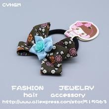 CYHGM girls haar accessories brand for women little+people braided head band schrunchies bebe-menina elastic hair bands A17