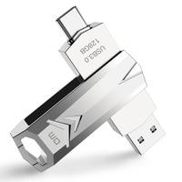 USB C Тип C USB3.0 флеш-накопитель PD098 32G 64G 128G для Andriods смартфон памяти мини-usb-накопитель