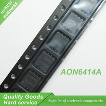 10pcs Free shipping AON6414AL AON6414A AO6414A 6414A QFN8 offen use laptop chip 100% new original