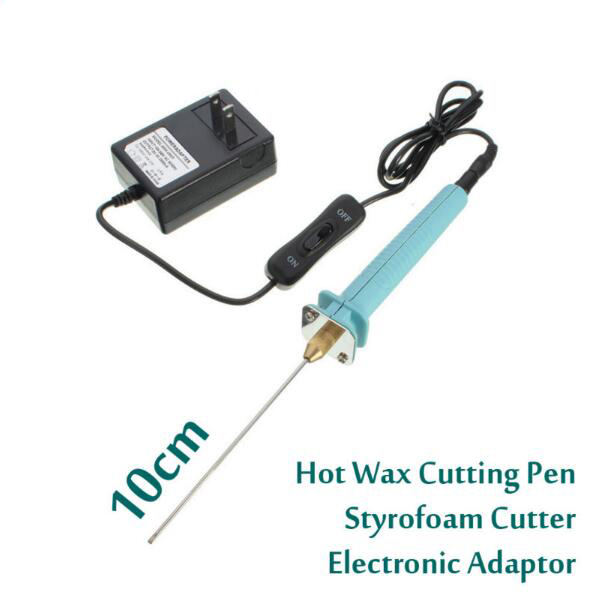 Free shipping 1pc 10cm Electric Foam Hot Knife Styrofoam Cutter Pen+ Electronic Voltage Transformer Adapter (EU plug available) free shipping qhy polemaster electronic polarscope without adapter