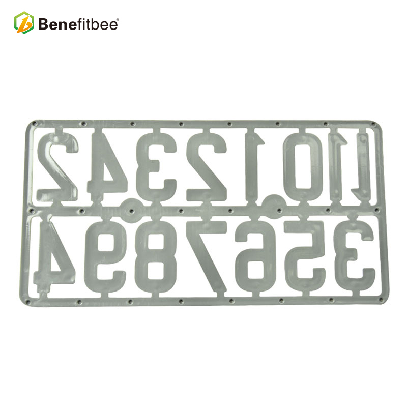 Image 5 - Benefitbee 3PCS/pack Plastic Beehive Sign Digital Number Box Sign Hive Mark tool Beekeeping Marking Board Beehive Numbers-in Beekeeping Tools from Home & Garden