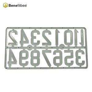 Image 5 - Benefitbee 3PCS/pack Plastic Beehive Sign Digital Number Box Sign Hive Mark tool Beekeeping Marking Board Beehive Numbers