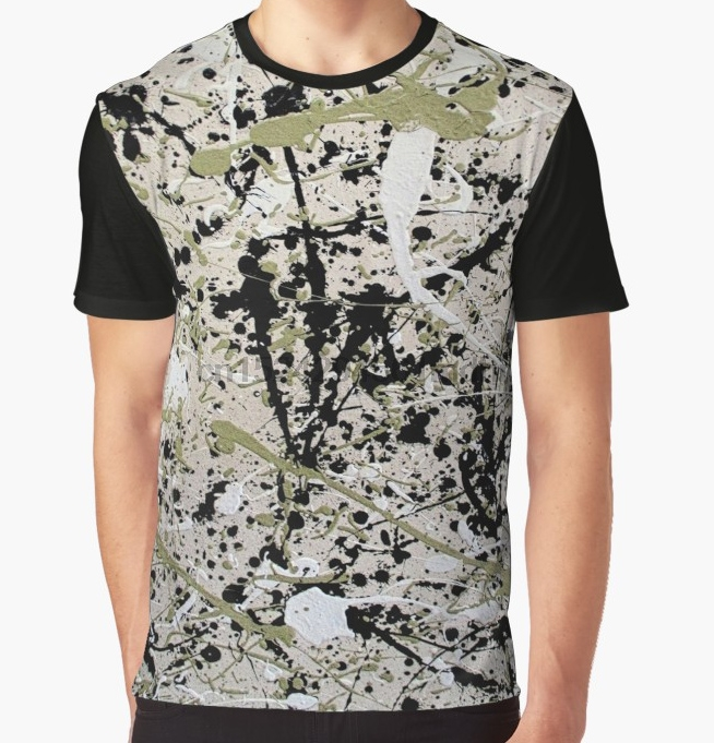 All Over Print T Shirt Men Funy tshirt pollock inspired  Short Sleeve O Neck Graphic Tops Tee women t shirt-in T-Shirts from Men's Clothing on AliExpress - 11.11_Double 11_Singles' Day 1