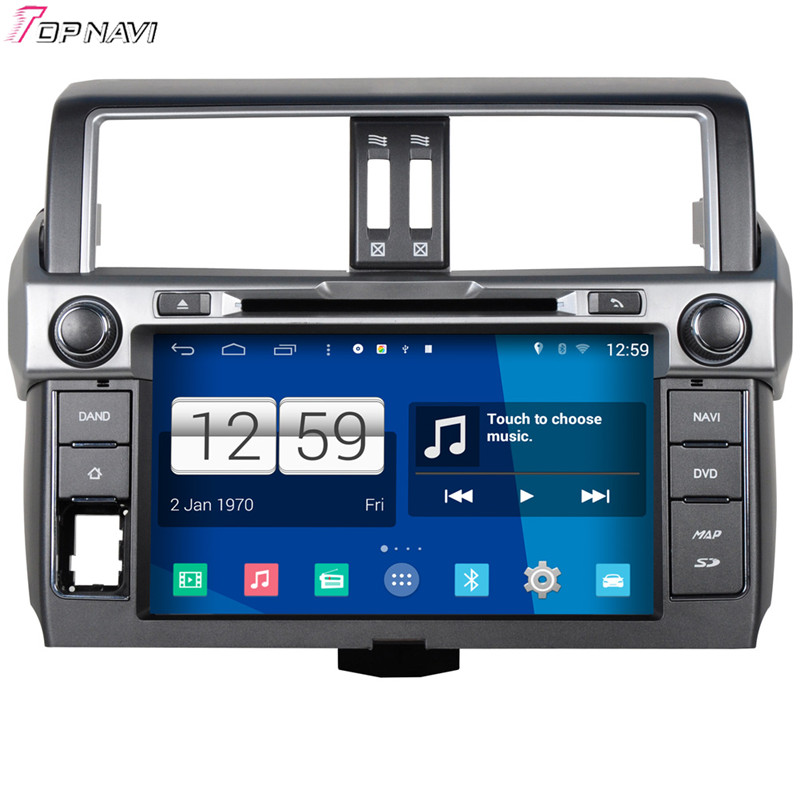 Winca 9'' Quad Core S160 Android 4.4 Car DVD Multimedia For Toyota Prado 2014 With GPS Stereo Radio Mirror Link 16Gb Flash