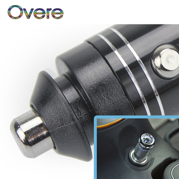 Overe 1PC Car Mini Fresh Air Anion Ionic Purifier Oxygen Bar For Renault Megane 3 Duster Captur Chevrolet Cruze Aveo Captiva image