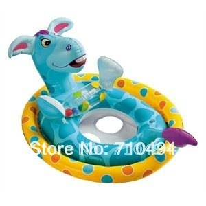 Free Shipping children inflatable seat for water, Baby Kids Water Pool Swim Ring Seat, baby kids pool seat