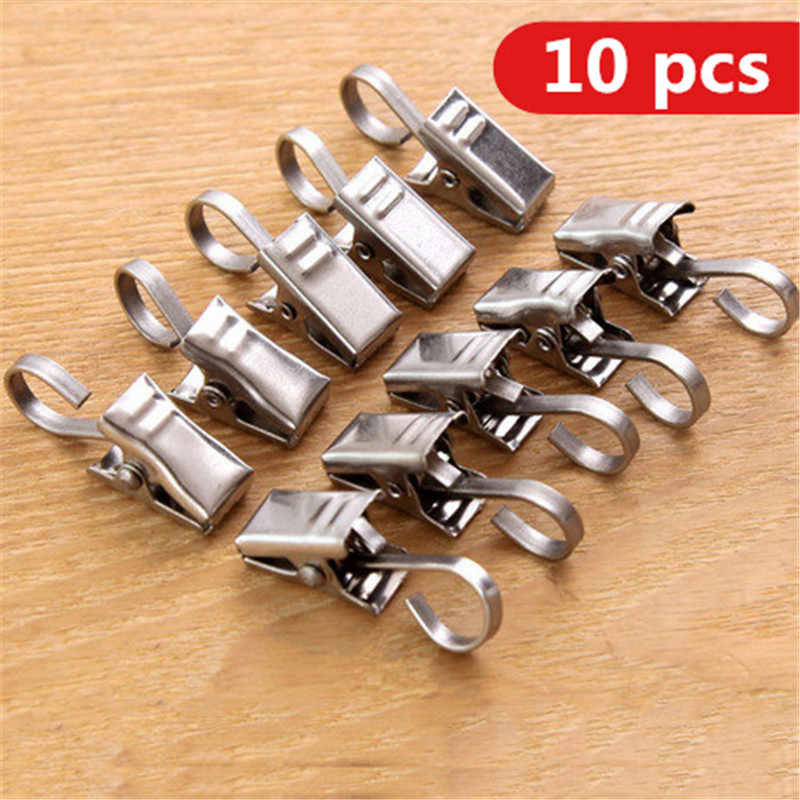Stainless steel clothespin quilt strong anti wind clothes clothes clip clip thickening trumpet clothespin 2532