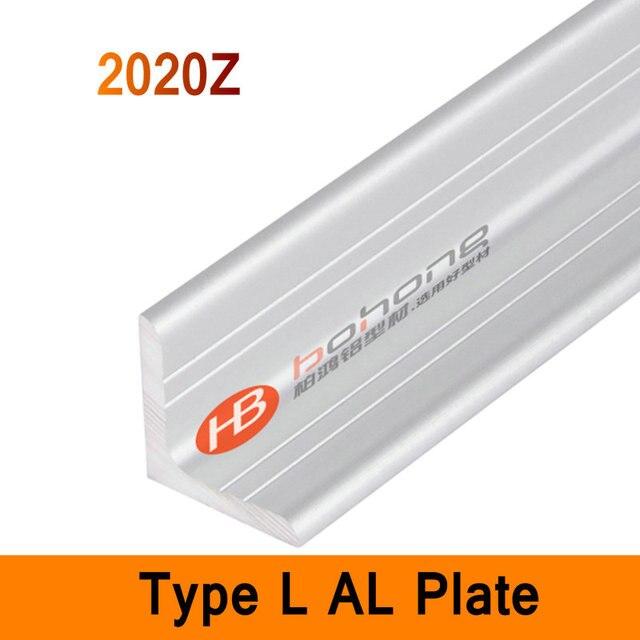 2020Z Tipo L Ángulo de Perfil De Aluminio De Larga Placa de 3mm de ...