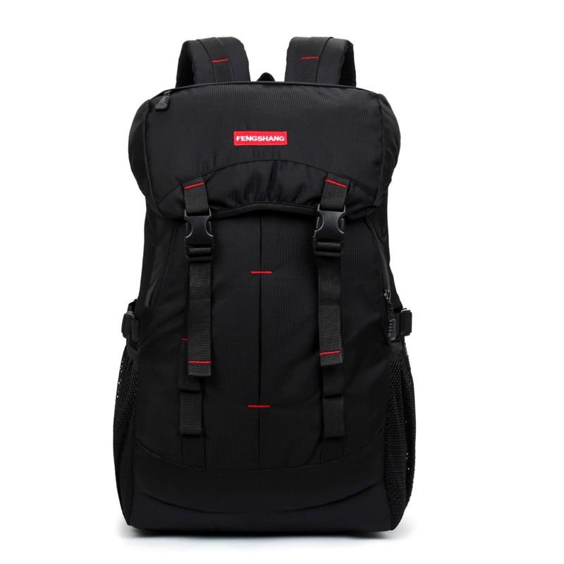 Outdoor Daily Leisure 40L Bag Travel Backpack Sports Bags Hiking Backpacks Nylon Bag Waterproof Camping Backpacks in Rucksack
