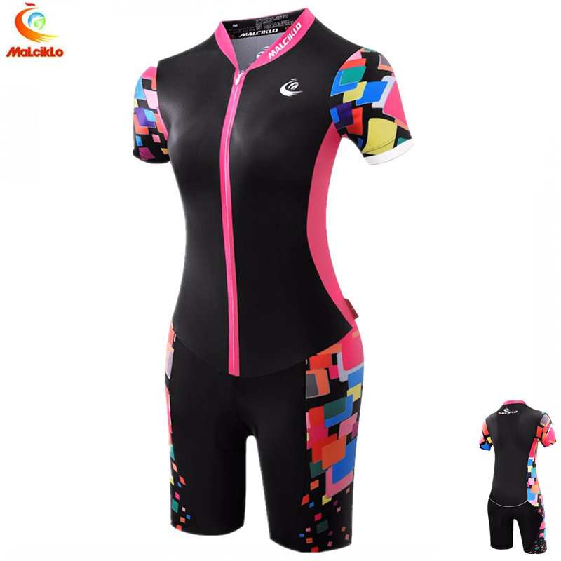 Women Black Sport Jumpsuit 2018 High Quality Ropa Ciclismo Maillot Cycling Jersey Skinsuit Bike Girls Clothing Triathlon Suit black strapless high waisted jumpsuit