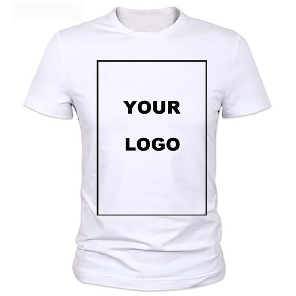 Design your own t shirt good quality - Customized Men S T Shirt Print Your Own Design High Quality 2017 New Fashion Brand Men Clothes Solid Color