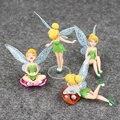 2016 Tinker Bell Fairy TinkerBell Figura de Acción Conjunto para Niños y Niñas de Acción Juguetes Para Niños