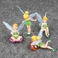 2016 TinkerBell Tinker Bell Fairy Action Figure Set for Boys and Girls Action Figure Kids Toys