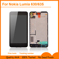 Para microsoft nokia lumia 630 novo display lcd + touch screen digitador assembléia + quadro