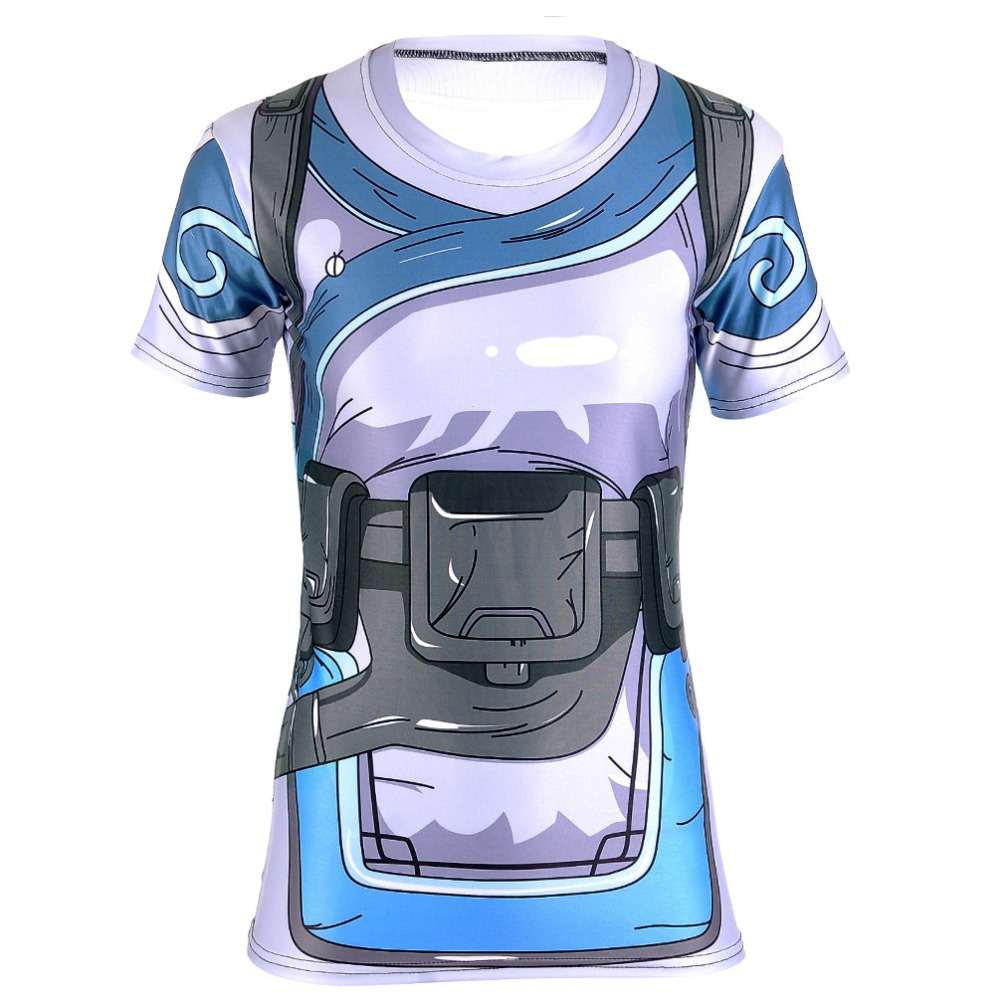 Design t shirt games online - New Design Ow Character Mei 3d Printing T Shirt Cosplay Party T Shirt Ow Game Fans
