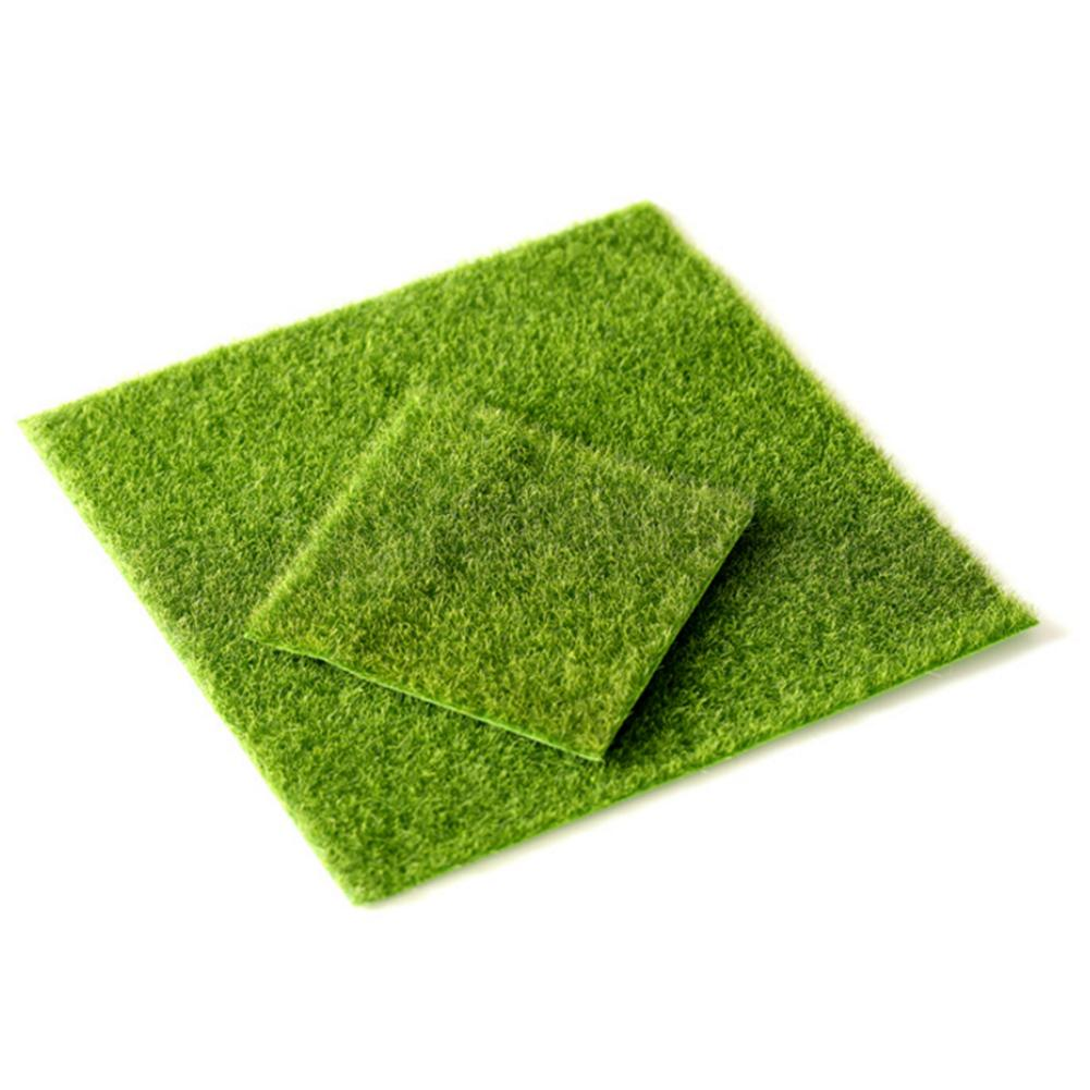 2 Size Innovative Micro Landscape Artificial Grass Landscape Home Accessories Aquarium Decoration Artificial Lawn Garden Real To(China)
