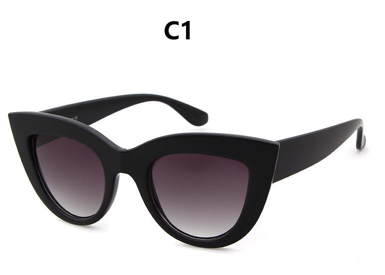 HTB1yFixRpXXXXbgXVXXq6xXFXXXD - Women's cat eye sunglasses ladies Plastic Shades quay eyewear brand designer black pink sunglasses PTC 221