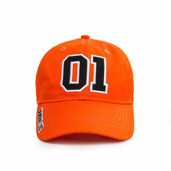 Takerlama New General Lee 01 Embroidered Cotton Twill Cap Hat Dukes of Hazzard Good OL\' Boy Unisex Adult Applique Baseball Hat