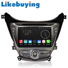 """Likebuying 8"""" Car 2 Din Android for Hyundai MDAvante 2012 DVD GPS Radio Stereo Navigation Player QUAD CORE 1024*600 16G"""