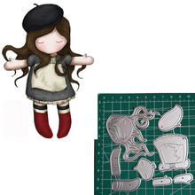 Metal Cutting Dies Little doll Animal 2019 Scrapbooking Craft Cut Stamps Embossing Stencils Invitation Card