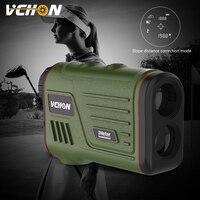 VCHON 6 x Numérique 600 m Portée Télémètre Portable Laser Mesure Pente Fonction Pin Lock Mètre de Distance Golf Range Finder