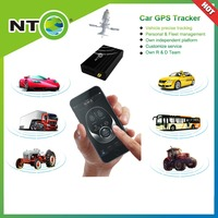 NTO factory car gps tracking alarm security system with spanish Russian French English suport free app google map