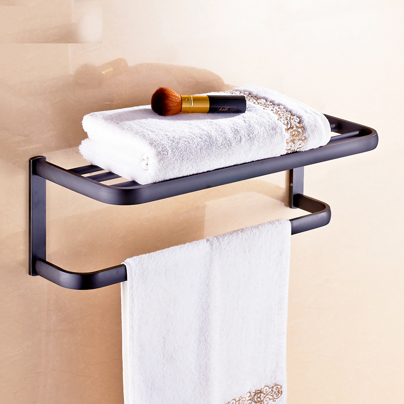 Solid Brass Bathroom Accessories Set Paper Holder Bath Towel Bar Commodity Shelf Toilet Brush Holder free shipping ba9105 bathroom accessories brass black bronze toilet paper holder
