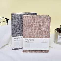 A6 Оригинальная Ткань блокнот в твердом переплете блокнот простой текстура ткани крышка руки книгу 14,5*10,8*2 см