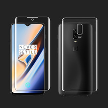 Ultra-thin Front Back Transparent Full Cover Soft Hydrogel Film For Oneplus 6T 6 5T 5 3T 3 Screen Protector Soft Protective Film стоимость
