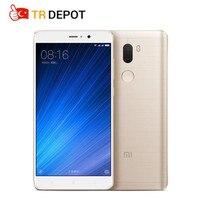 Оригинальный Xiaomi Mi5S Plus mi 5s Plus 4 ГБ 64 ГБ четырёхъядерный Snapdragon 821 NFC FDD 13MP x 2 5,7 mi UI 8 мобильный телефон с идентификацией отпечатков пальцев