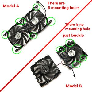Image 5 - 2pcs/set 4Pin CF 12915S GPU Cooler Fan VGA Card Fan For InnoVISION INNO3D Graphics Video Cards Cooling as Replacement