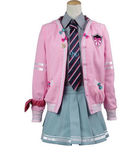 2018 HOT Anime VOCALOID Miku robe quotidienne rose uniforme scolaire pour les femmes Cosplay Costume Halloween carnaval livraison gratuite